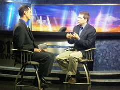 KTVA's View from the Hill (Senator Mark Begich) Tags: alaska senator anchorage viewfromthehill begich markbegich ktva seandoogan