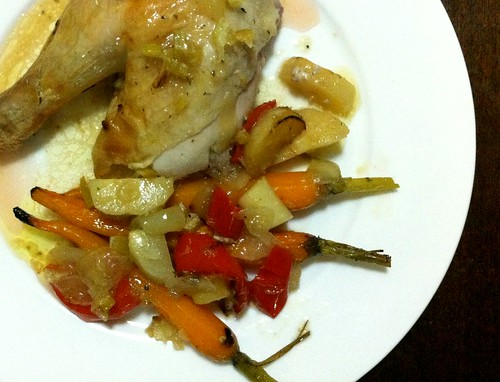 Baked Chicken with Preserved Limes by mjd-s