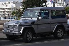 Mercedes-Benz G500 (Gregouill) Tags: 2011 201108 4x4 août g500 mercedes mercedesbenz suv saintquayportrieux saintquayportrieux2011 voiture