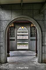 Archway to the Monastery. (Reggie Wan) Tags: architecture temple singapore asia southeastasia monastery archway reggiewan sonya850 sonyalpha850 gettyimagessingaporeq1