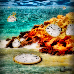 Bay Watches (Peter Solano. Pursuing a dream!) Tags: ocean blue original green water photoshop catchycolors bay rocks waves watches explore bent meline