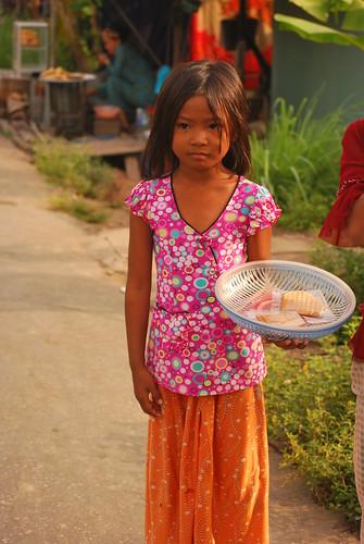 Mekong Delta Little girl by lelia22