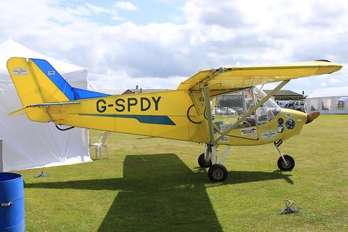 G-SPDY - Gimour White Hawk_  Dunkswell
