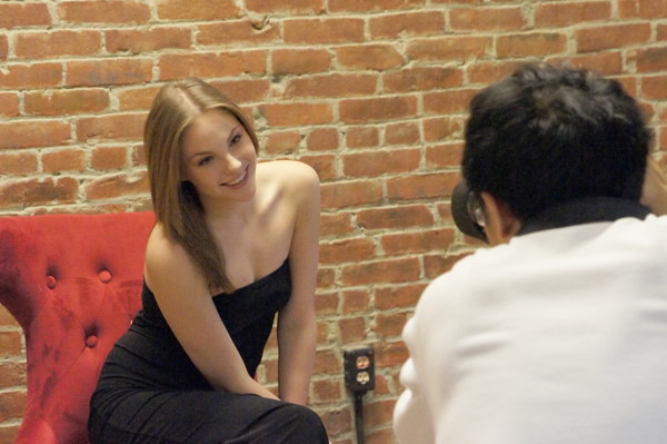 Candid Moments of Model Shoot in Preparation for the 2011 World Music Fashion Festival in Shanghai, Dalian, Hefei, Chengdu and Hangzhou, China