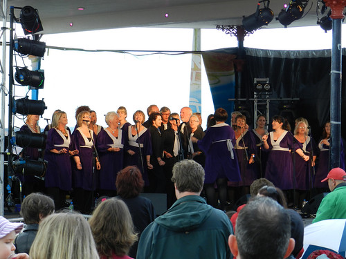 Bray Gospel Choir at Bray Summerfest 2011