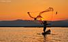 The Last Catch of the Day (DanielKHC) Tags: sunset lake bird net indonesia 1 fishing fisherman nikon explore rawa pening d300 tamron1750mmf28 danielcheong danielkhc