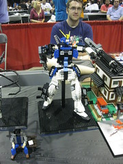 Lego Heavyarms (StopGoblin) Tags: toys lego gundam wizardworld gundamwing chicagocomiccon wizardworldchicagocomiccon2011