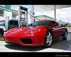 Ferrari 360 Modena (Igor Orozco) Tags: red brazil black de mexico morelia 360 ferrari queretaro bmw guanajuato modena m3 discos igor michoacan monterrey scuderia orozco matte tec itesm fotografo acambaro pemex calipers