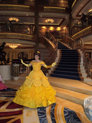 Princess Belle Character From Beauty And The Beast On