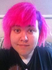 (Ty-Erin-Saurus Rex) Tags: portrait pinkhair purplehair manicpanic multicoloredhair iphoneography