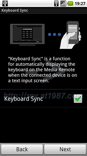 Sony Media Remote for Android