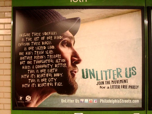 Litter Free Philadelphia Campaign by Edu-Tourist