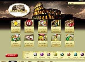Colosseum Casino Lobby