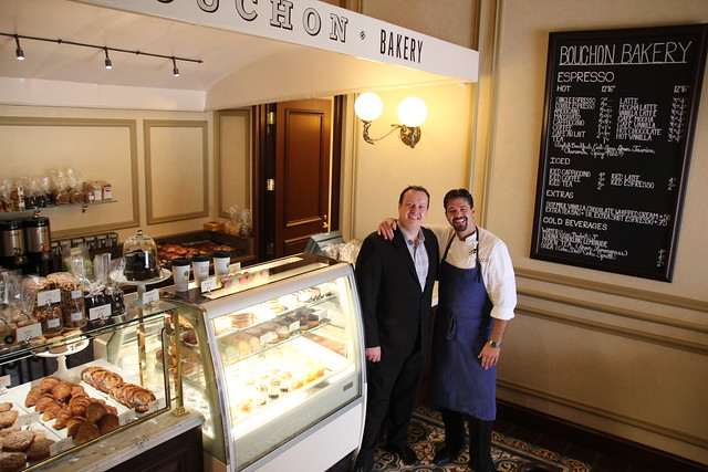 Bouchon Bakery Beverly Hills General Manager Stephen Cook and Chef de Cuisine Rory Herrmann by Caroline on Crack