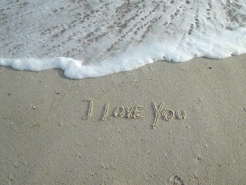 i-love-you-in-sand