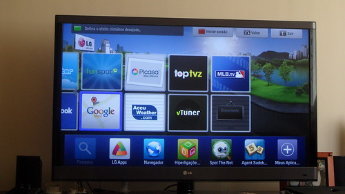 LG 3D Cinema Smart TV - [43]