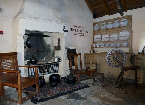 Inside Burns Cottage, Alloway