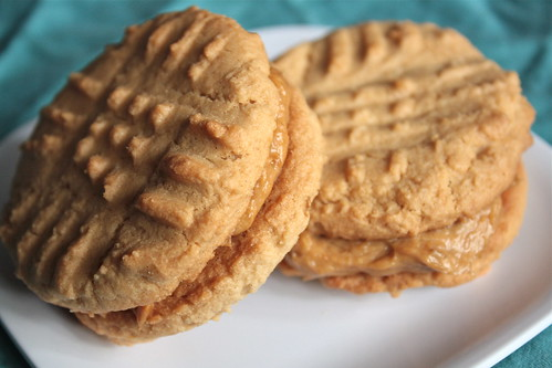 Sweet Banana Peanut Butter Cookies