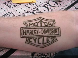 A Harley fan