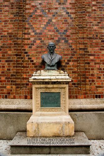 The Statue of Carlo Catani