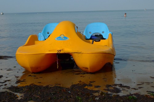 Single Speed Aquatic Tandem Recumbent (aka Pedal Boat)