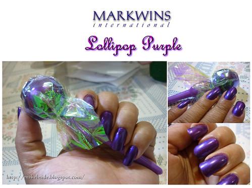 Markwins - Lollipop Purple