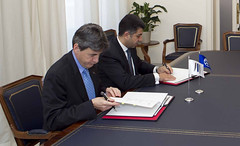 MoU signing ceremony between UfMS and EIB (ahmadmasadeh) Tags: ahmad masadeh