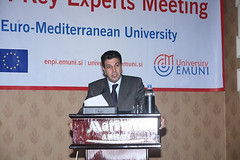 UfMS Secretary General Ahmad Masa'deh speaks at EMUNI experts meeting (ahmadmasadeh) Tags: ahmad masadeh