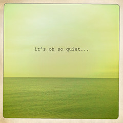 It's oh so quite (Explored) (ClaudiaJR) Tags: sea water still skies deamy hipstamatic