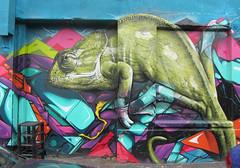 Dead Smug (cocabeenslinky) Tags: uk urban green liverpool canon dead graffiti l1 power shot smug powershot graff chameleon hs cameleon streertart sx220 cocabeenslinky cocabeenslinky