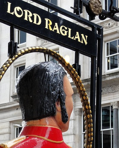 Lord Raglan Pub Sign