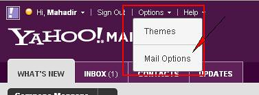yahoo mail filter