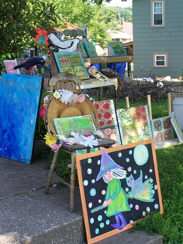 2nd Annual Art Yard Sale by Emilyannamarie