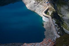 Illsee barrage - under construction Photo