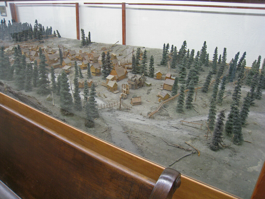 film set model for Paint Your Wagon