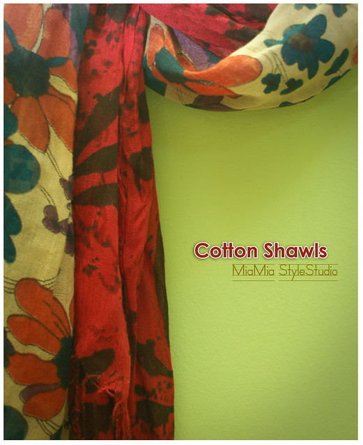 Mia Mia Cotton Shawls