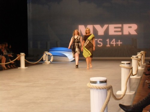 The Myer 'Big Is Beautiful' Show at Mercedes Benz Fashion Festival.