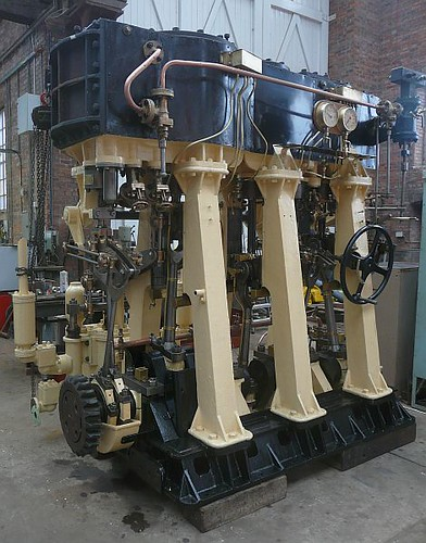 "Restored ""Sandchime"" steam engine"