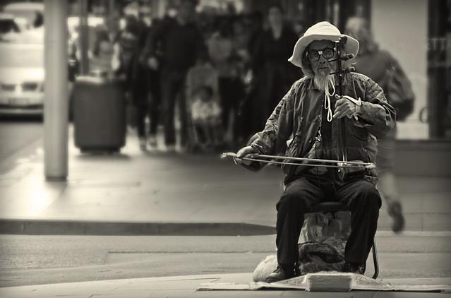 Chinese Street Musician