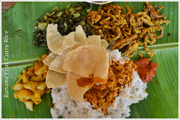 Banana Leaf Curry Rice