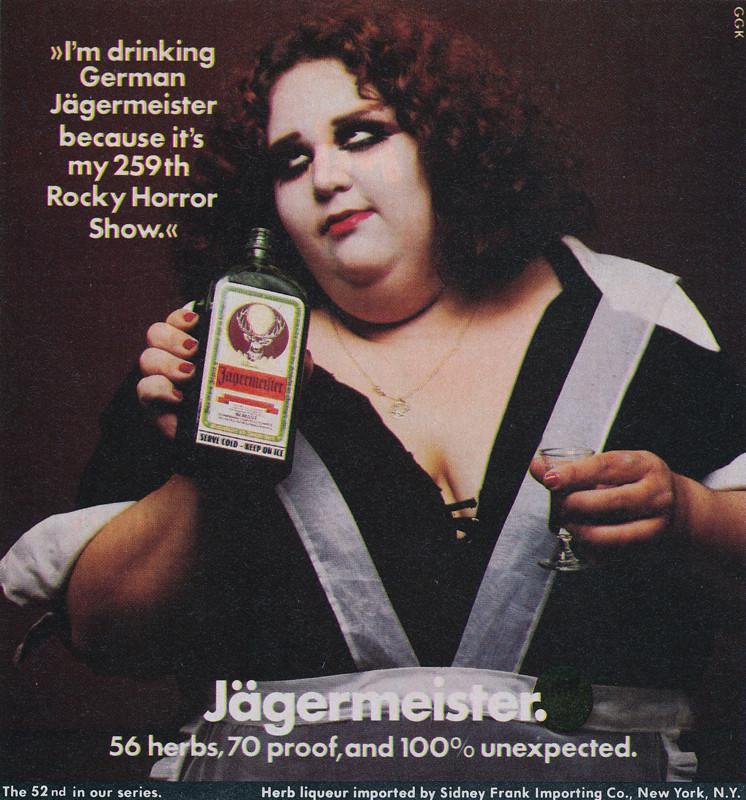 Jägermeister Small Space Ad / 1978 - 1980