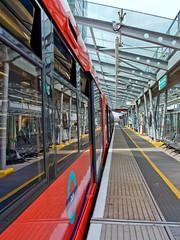 Empty Platform (Gerry Balding) Tags: england london station train empty platform docklandslightrailway westindiadock