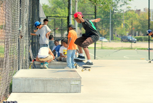 Skateboard Park - Side Tricks