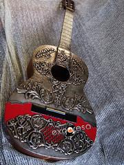 Guitarra espaola (Manualidades Exporosa) Tags: estao repujado