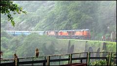ALCo Triplets @ Dudhsagar Waterfalls :) :) (sany20005) Tags: alco indianrailways wdm3a dudhsagarwaterfalls wdg3a alcotriplets poornaexpress