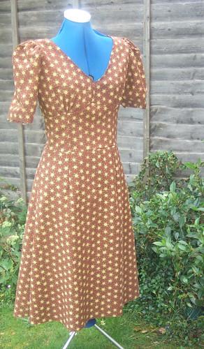 1940s dress in progress