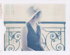 New flat, new life (emilie79*) Tags: selfportrait paris girl hat polaroid180 iduvfilm