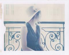 New flat, new life (emilie79*) Tags: selfportrait paris girl hat polaroid180 iduvfilm
