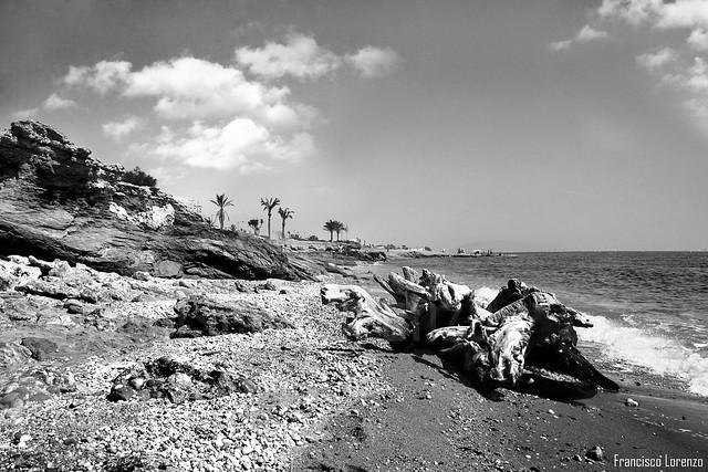 Playa de Garrucha (Almeria).