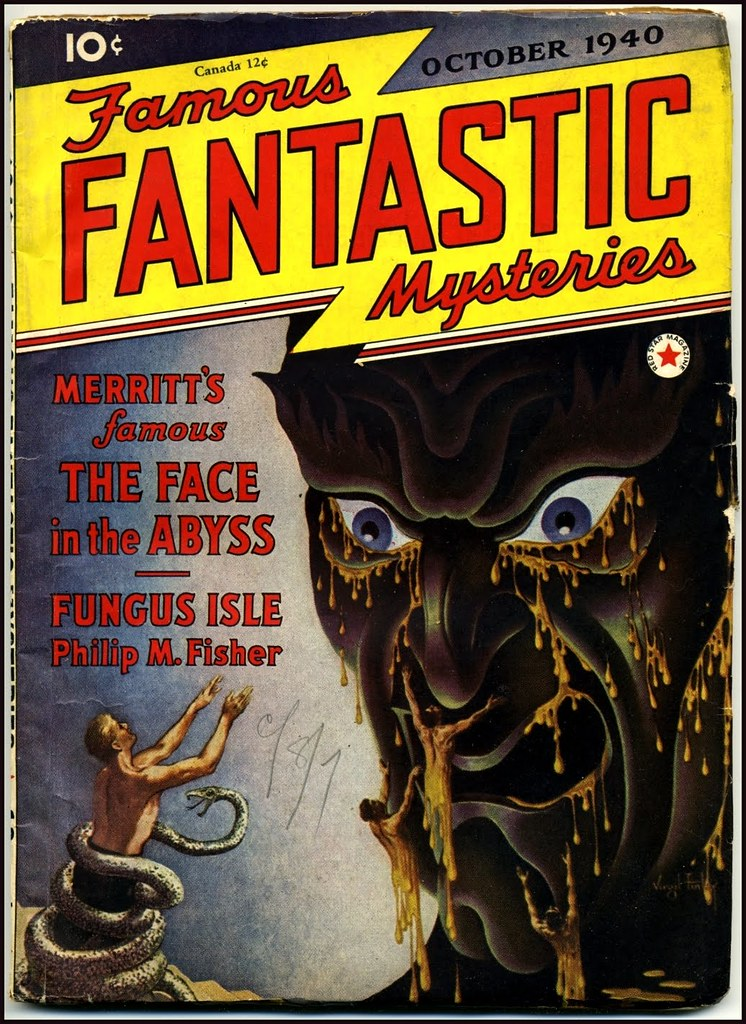 Virgil Finlay - Famous Fantastic Mysteries, October 1940
